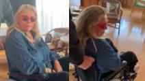 Mara Venier in sedia e rotelle ma è pronta per Domenica In