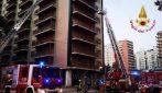 Palermo, incendio al nono piano di un palazzo: morta una donna