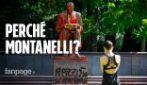 Milano, ecco perché è stata imbrattata proprio la statua di Indro Montanelli