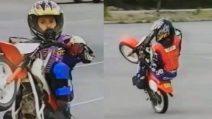 Da piccolo mostrava la sua classe sulla minimoto, oggi è un campione affermato
