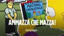 """Ammazza che Mazza: ora puoi giocare anche tu al videogioco de """"I Simpson"""", incubo di Bart"""