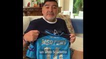 """Maradona invia un messaggio a Mertens: """"Sono orgoglioso di te"""""""