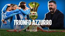 Coppa Italia, Napoli in trionfo: gli azzurri battono la Juventus ai rigori