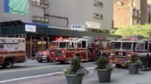 Incendio nell'Empire State Building di New York