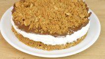 No-bake hazelnut crumble: you'll love this recipe!