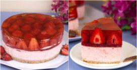 Cheesecake alle fragole: alta e cremosa come non l'avete mai provata!