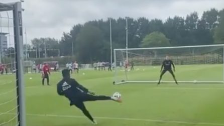 """Come si allenano i portieri dell'Ajax: gli esercizi """"innovativi"""""""