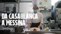 """La storia Meryem, 19 anni: """"Sono arrivata da Casablanca e sono diventata una chef"""""""