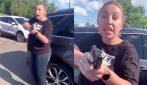 """""""Stammi lontana o sparo"""", le minacce a una donna afroamericana dopo una lite in un parcheggio"""