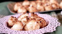 Dolcetti al cocco con 3 ingredienti: belli, buoni e gustosi