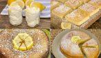 4 Dolci al limone uno più buono dell'altro! E tu quale preferisci?