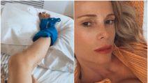 """Infortunio alla caviglia per Alessia Marcuzzi: """"Sono inciampata"""""""