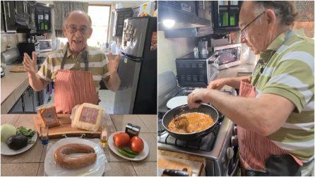 A 79 anni apre un canale YouTube di cucina dopo aver perso il lavoro a causa del Coronavirus