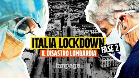 Italia Lockdown - Fase 2, dall'emergenza sanitaria alla crisi economica: il disastro Lombardia