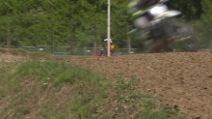 Dovizioso, infortunio in gara di motocross: le prime immagini