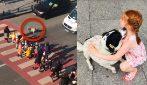 Il cane che aiuta i bambini ad attraversare la strada