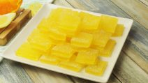 Orange gummy candies: how to make them at home!