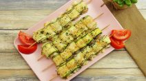Zucchini rolls skewers: the perfect recipe for the whole family!