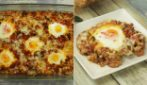Meat and eggs casserole: super delicious and ready in less than 30 minutes!