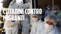 """Migranti salvati e messi in quarantena a Noto, cittadini protestano: """"Ci portano il coronavirus"""""""