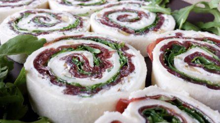 Girelle salate senza cottura: la ricetta per un piatto fresco e appetitoso