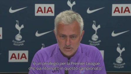 """Sport - Calcio-estero - Mou: """"Amo Ancelotti, infrangerò le regole del Covid per lui"""""""