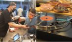 In Florence there's the first restaurant in the world where you can pay with your favorite records