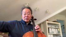 """L'omaggio di Yo-Yo Ma a Ennio Morricone: """"Non dimenticherò come ha descritto la musica"""""""