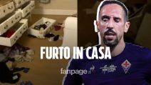 """Franck Ribery mostra la casa svaligiata: """"Come possiamo star bene qui? Prenderò le mie decisioni"""""""