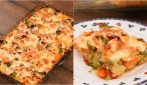 Veggies flan: a delicious main dish ready in no-time!