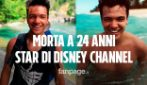 "Morto Sebastian Athie: addio all'attore 24enne di Disney Channel protagonista di ""Once"""