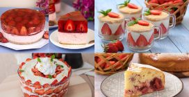 4 Fresh and delicious strawberry desserts that will conquer all your guests!