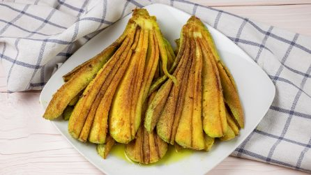 Fried zucchini: you've never seen them cooked in this way!