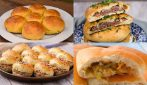 4 Recipes for making fluffy, delicious and stuffed sandwiches buns!