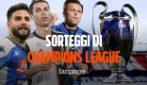 Sorteggi Champions League: il tabellone con Juventus e Napoli. Atalanta con il Psg