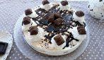 Cheesecake panna, cioccolato e nocciole: il dessert al quale è impossibile resistere