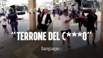 """Tifoso del Napoli provoca Gasperini, il team manager dell'Atalanta lo insulta: """"Terrone del c***o"""""""