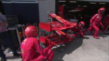 Formula 1: Ferrari, il video dell'incidente Vettel-Leclerc al via del GP di Stiria