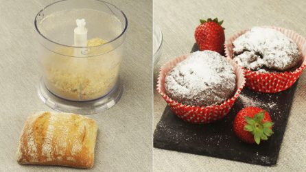 Homemade breadcrumbs and powdered sugar: how to make them at home!