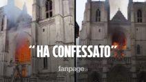 """Incendio cattedrale di Nantes, ha confessato l'uomo fermato: """"È pentito"""""""