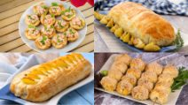 4 Ricette gustose e originali che puoi realizzare con la pasta sfoglia!