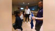Ribery, campione dal cuore d'oro: rende felice una bambina