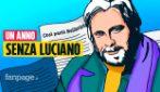Un anno senza Luciano De Crescenzo