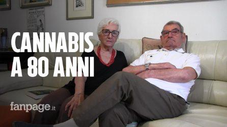 """""""Mio marito Luciano è rinato a 80 anni grazie alla cannabis, prima neanche camminava"""""""