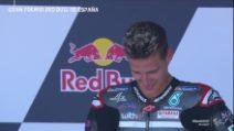 Quartararo, prima vittoria in MotoGp: le lacrime del francese sul podio