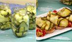 Zucchine sott'olio: come preparare il contorno estivo più buono che ci sia!