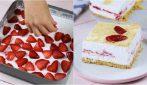 Lasagna fredda alle fragole: il dolce senza cottura cremoso e facile da preparare!