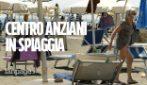 """Centri anziani del III Municipio in spiaggia ad Ostia: """"Stiamo in compagnia e ci divertiamo"""""""