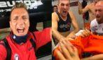 Il Crotone torna in serie A, Maxi Lopez e compagni festeggiano