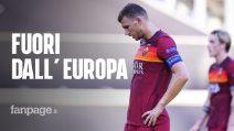 La Roma è fuori dall'Europa League: il Siviglia vince 2-0 con i gol di Reguilon e En-Nesyri
